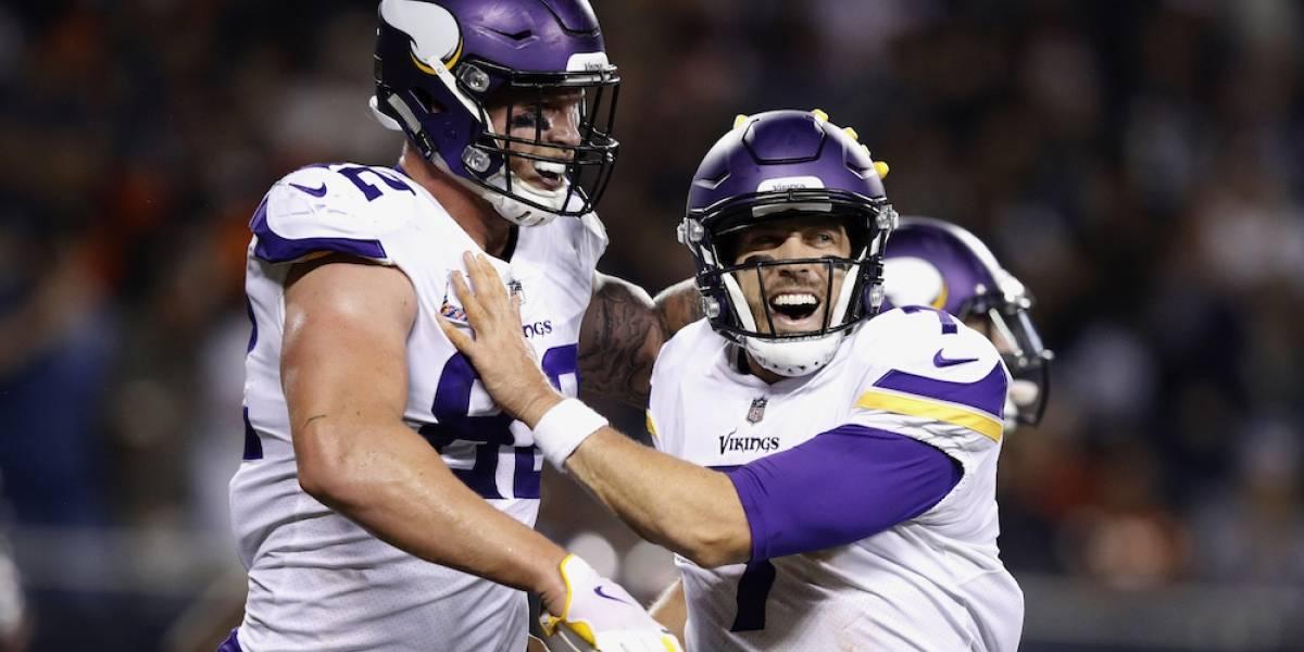 Los Vikings se imponen sobre Chicago en el cierre de la semana 5