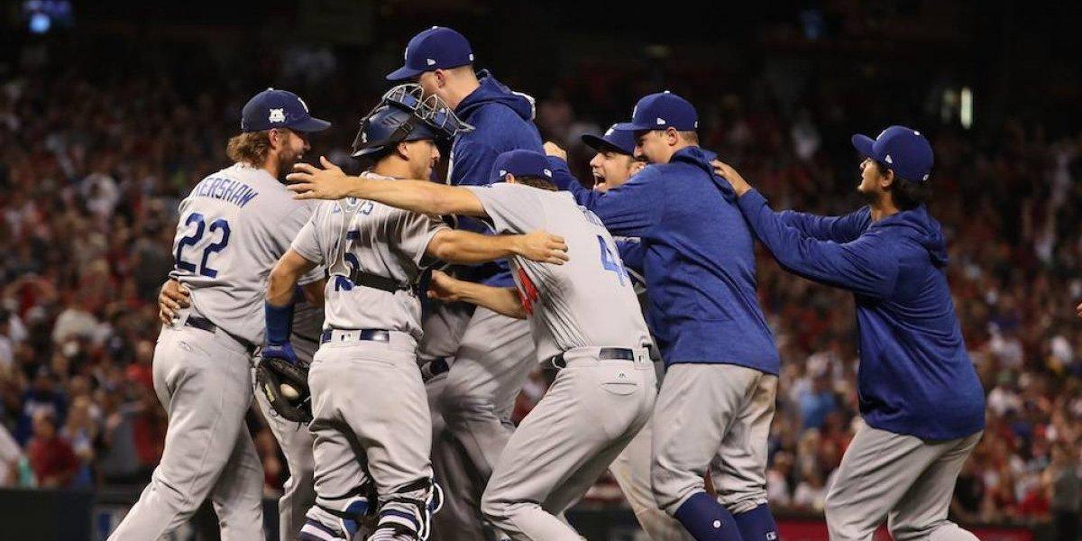 Los Dodgers pelearán por el campeonato de la Liga Nacional