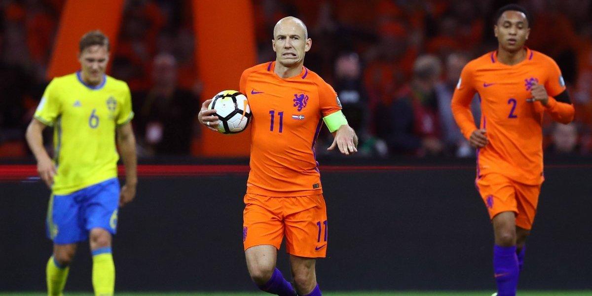 Holanda quedó eliminado entre lágrimas del Mundial de Rusia ante Suecia