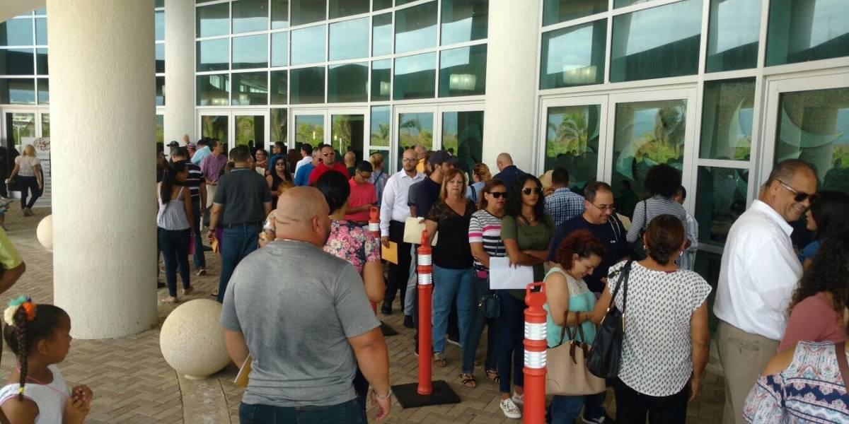 Cientos llegan a Ponce a buscar empleo de FEMA
