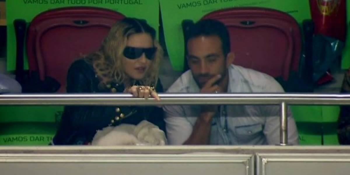 ¿Por qué Madonna fue a apoyar al Portugal de Cristiano Ronaldo?
