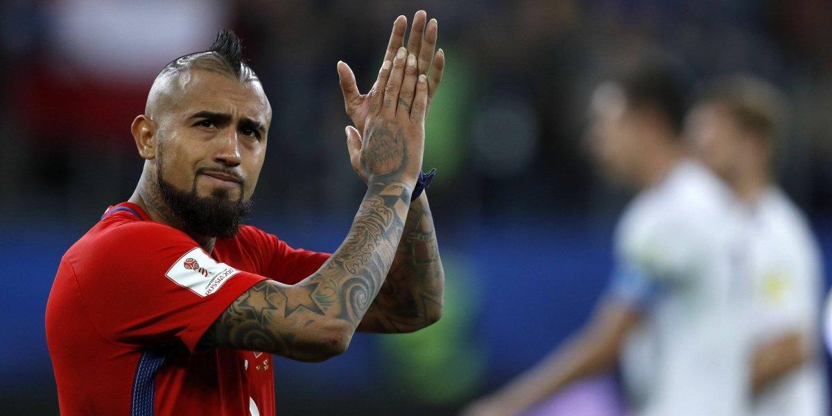 """Arturo Vidal arenga a sus compañeros desde Alemania: """"Hay que jugarse la vida"""""""