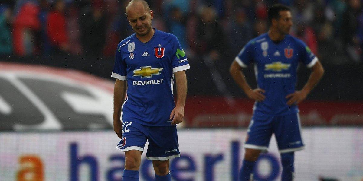 """La lesión de Gustavo Lorenzetti le agrega otro ladrillo al """"hospital"""" de la U"""
