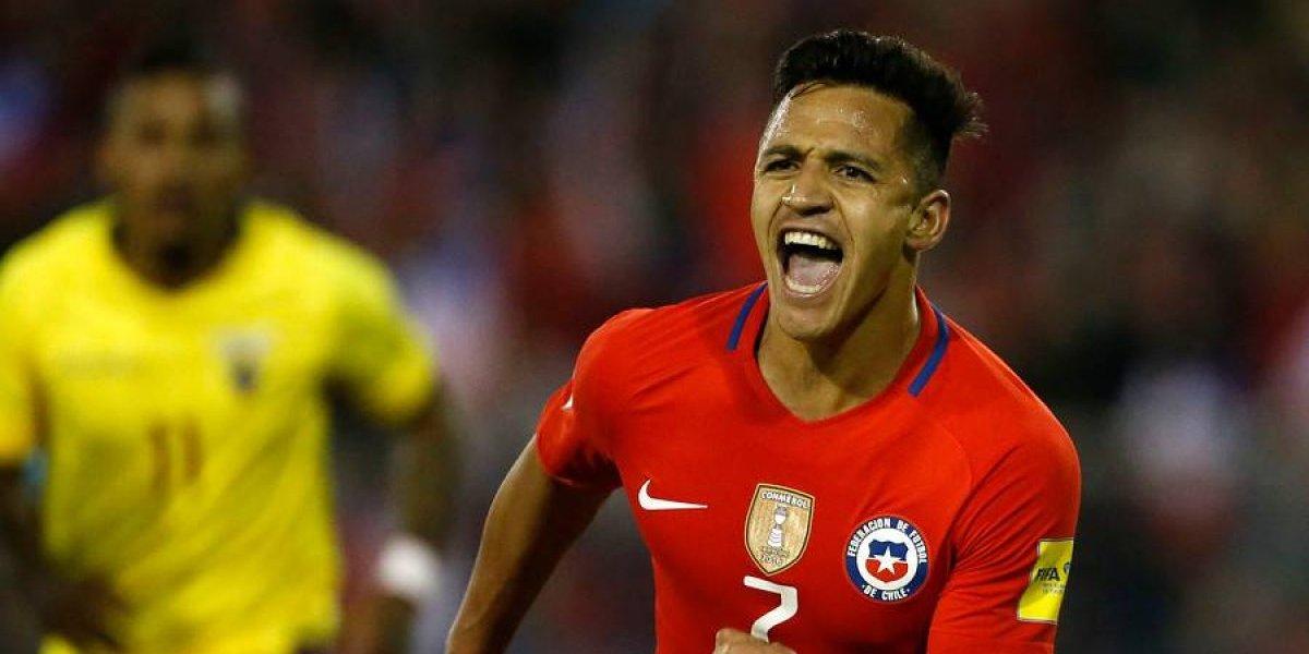 En España se alarman ante una posible ausencia de Alexis Sánchez en el Mundial de Rusia