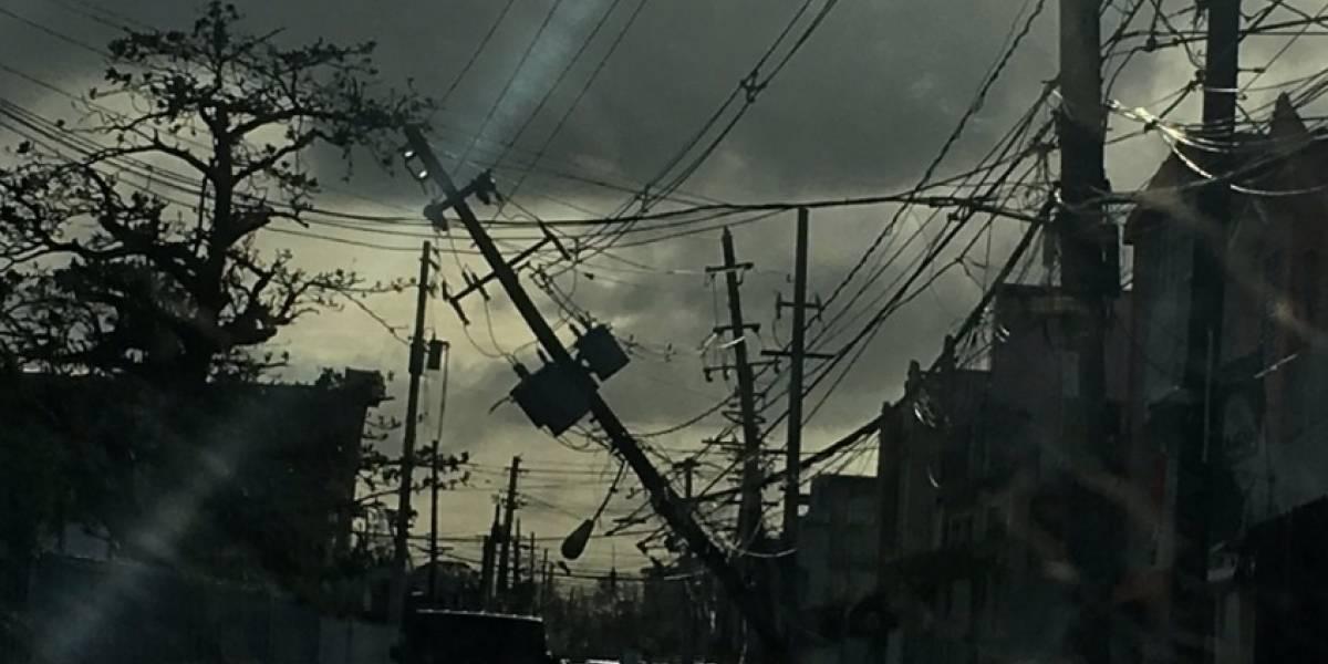 Sin determinar alcance de daños a postes de tendido eléctrico