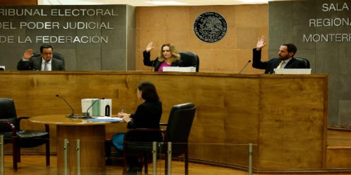 TEPJF confirma validez de elección y entrega constancia al presidente municipal de Saltillo