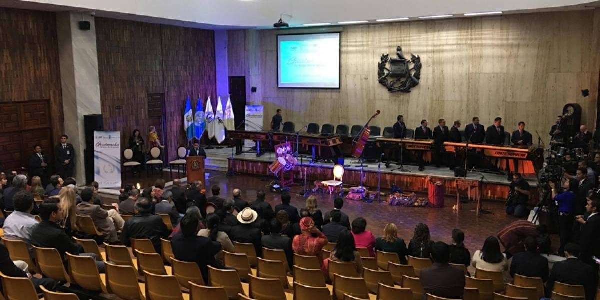 """""""Por una Guatemala libre de Impunidad"""" se realizó en la Sala de Vistas"""