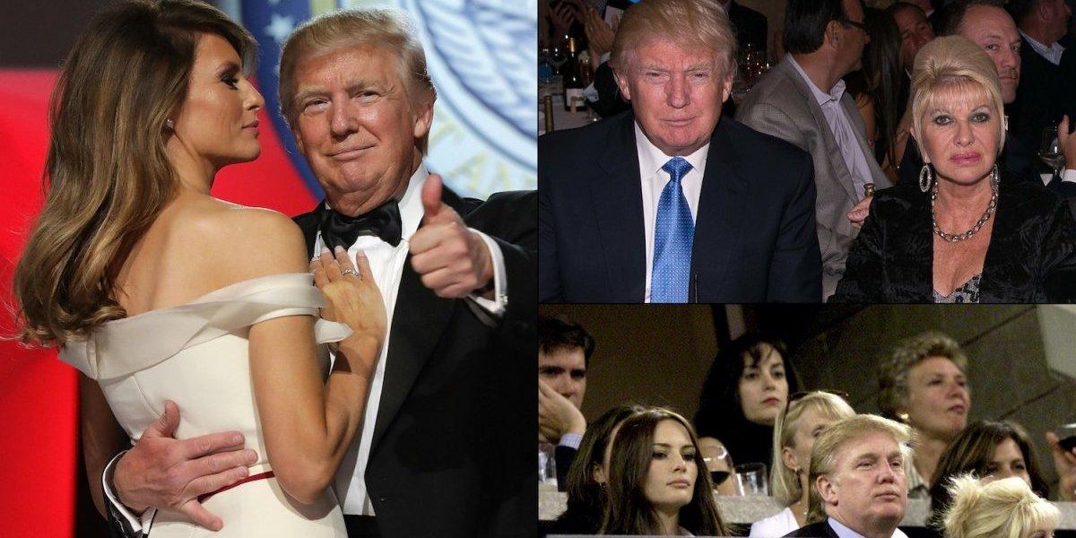 Ivana Trump niega tener problemas con Melania
