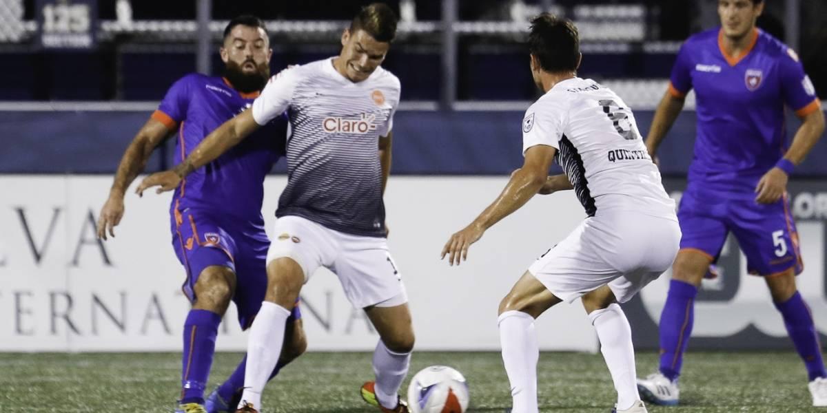 PRFC terminará temporada NASL fuera del Loubriel