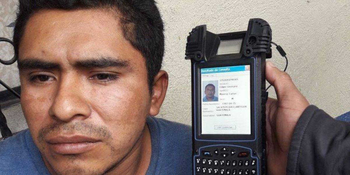 Capturan a presunto violador serial que operaba en Jocotenango y Antigua