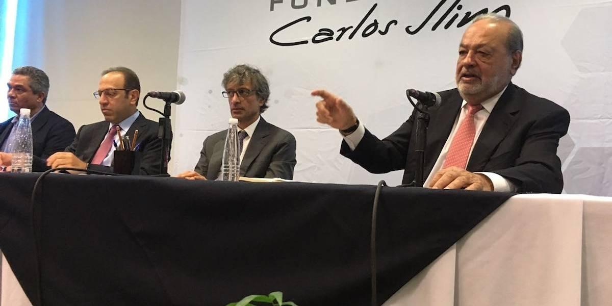 Carlos Slim anuncia donación de 2 mil 373 mdp para afectados de sismos