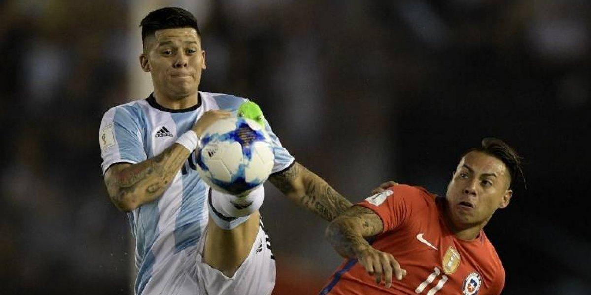 Seleccionado argentino se ríe sin piedad de Chile tras quedar fuera del Mundial