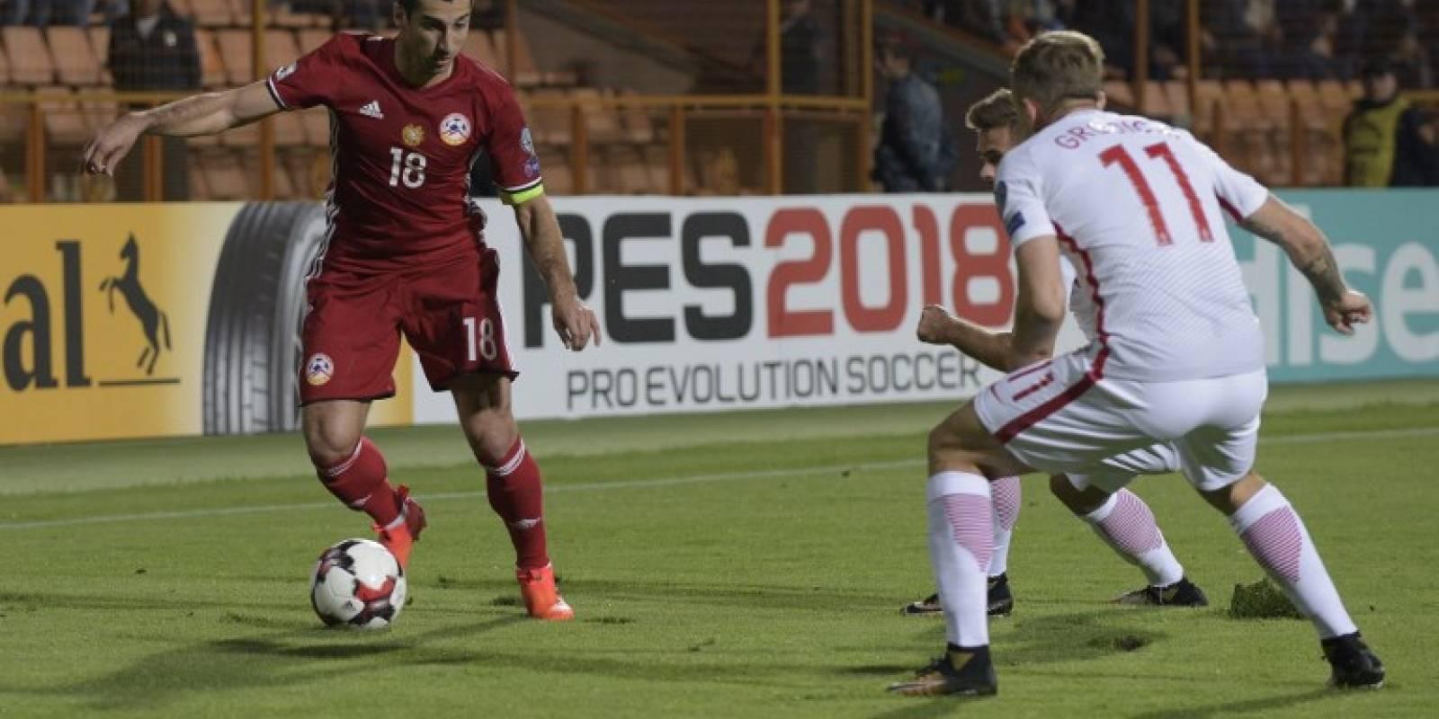 Henrikh Mkhitaryan - Armenia