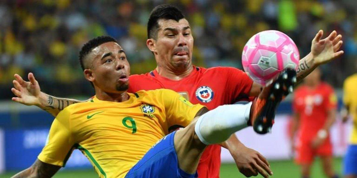 Medel y Neymar habrían tenido un duro encontrón según DT de Brasil