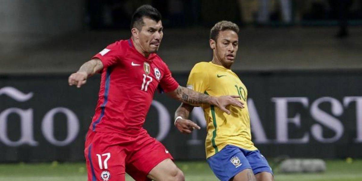 DT de Brasil lanzó fuerte acusación contra Gary Medel