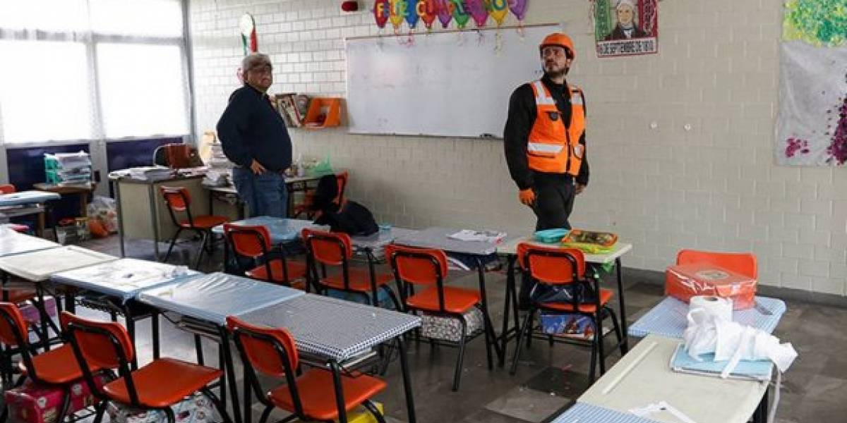 Levantan restricción de clases en escuelas de Tláhuac