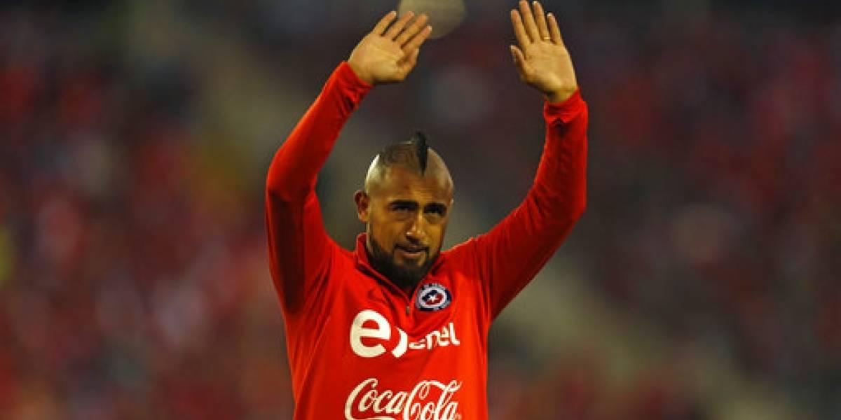 Arturo Vidal se despide de Chile con el alma destrozada