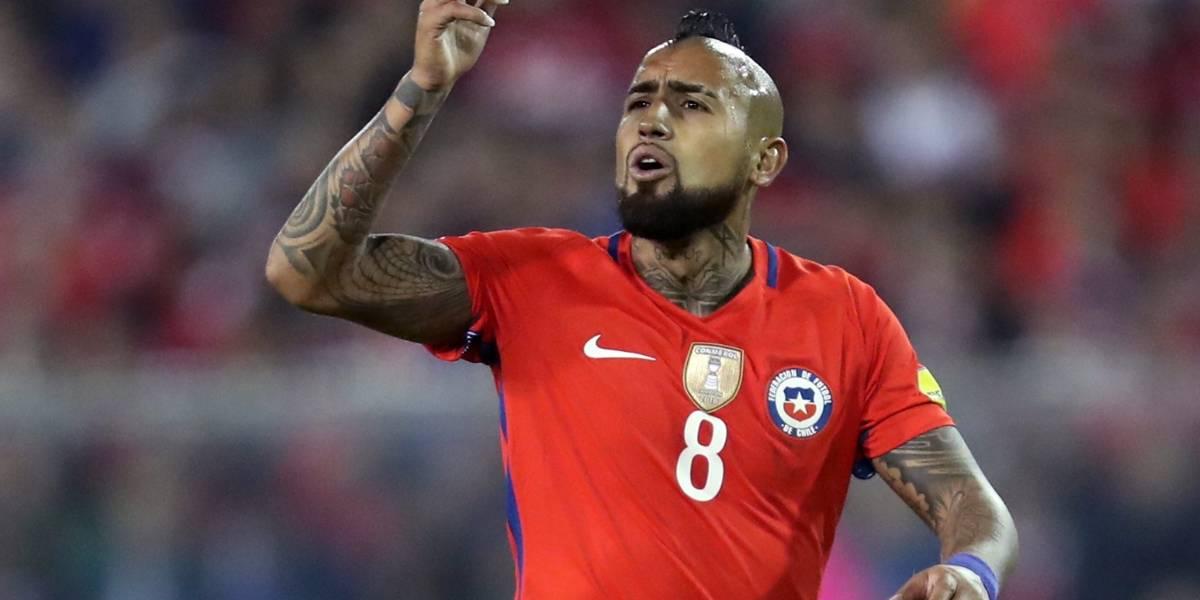 El mensaje de Arturo Vidal tras eliminación de Chile al Mundial
