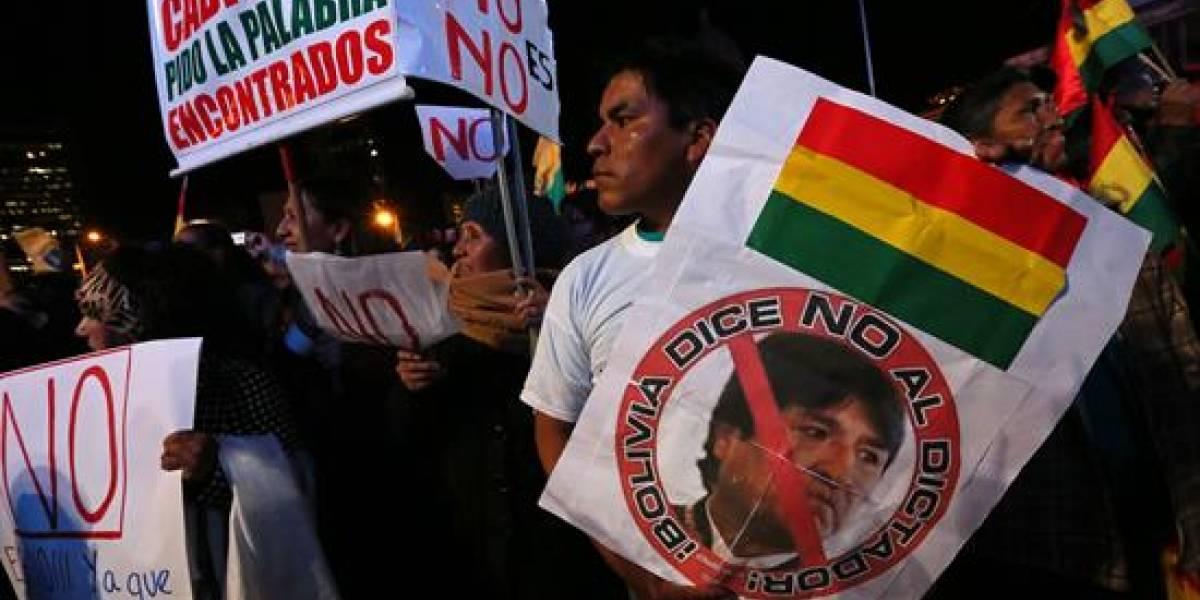 Contra la reelección: Marchas masivas en Bolivia le recuerdan a Evo Morales que ya no más