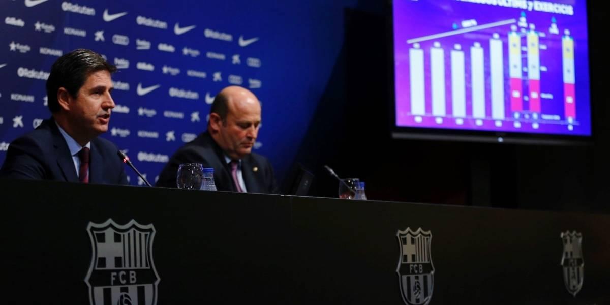 Barcelona presenta el mayor presupuesto de la historia de un club deportivo