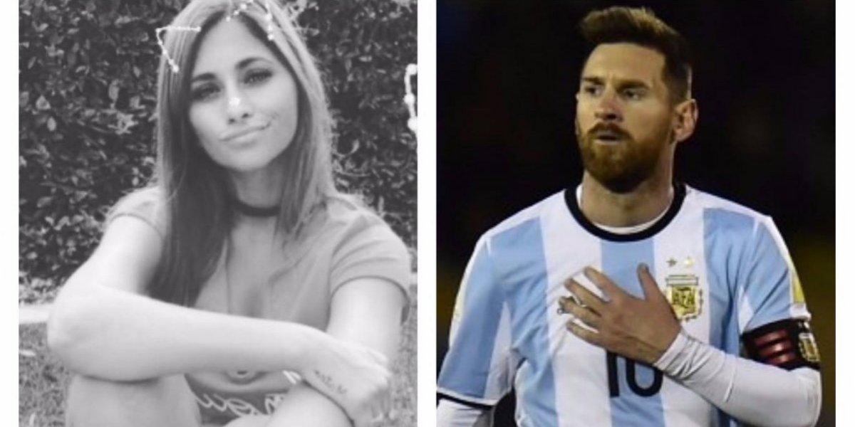 Antonela Roccuzzo felicita de forma especial a Messi por el pase al Mundial