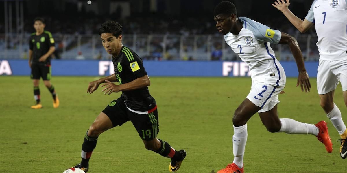 Lainez ilusionó, pero México cayó ante Inglaterra en el Mundial Sub 17