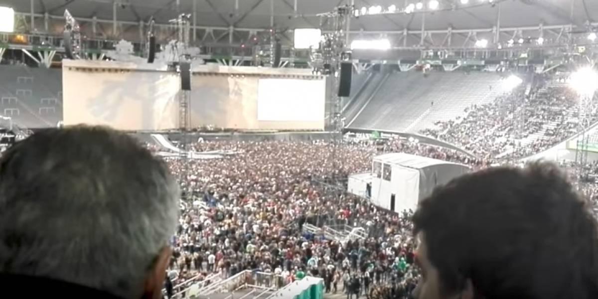 VIDEO: Argentinos disfrutaron boleto al Mundial en concierto de U2