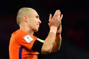 Arjen Robben se retira de su selección.