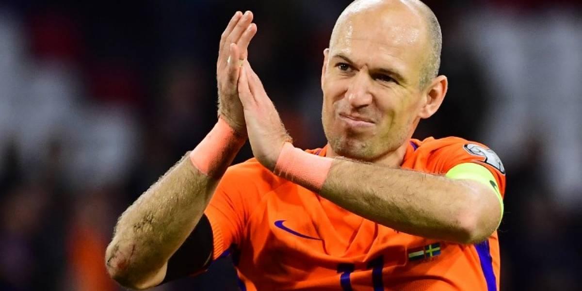 Robben y el final de una generación que se despide sin Mundial