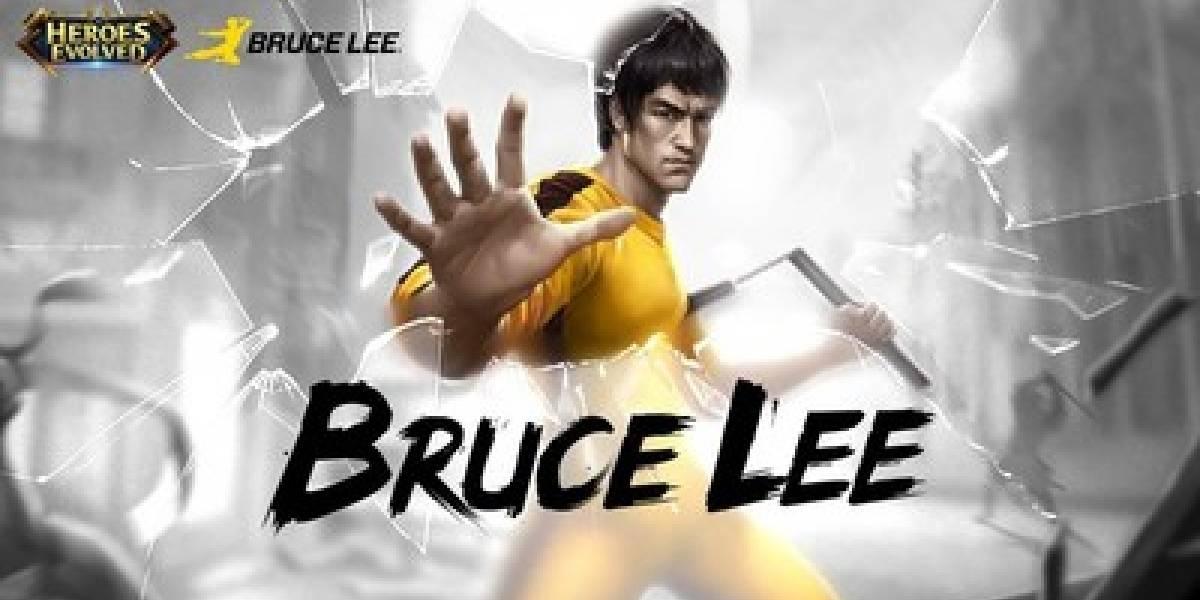 Bruce Lee, O Lendário Mestre de Kung Fu, em Heroes Evolved