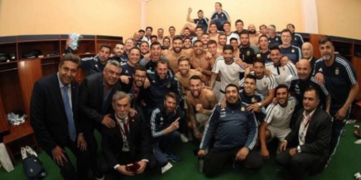 Argentina dedica pase al Mundial a los 'putos periodistas'