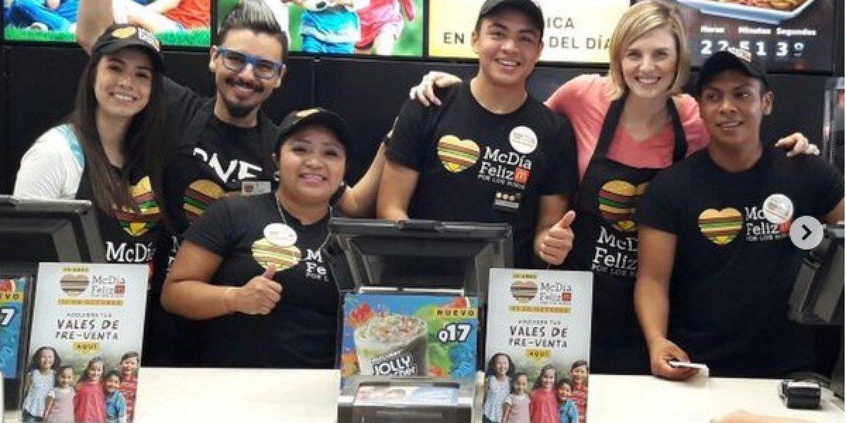 McDonald's comparte fotos del McDía Feliz y usuarios notan un detalle que los emociona
