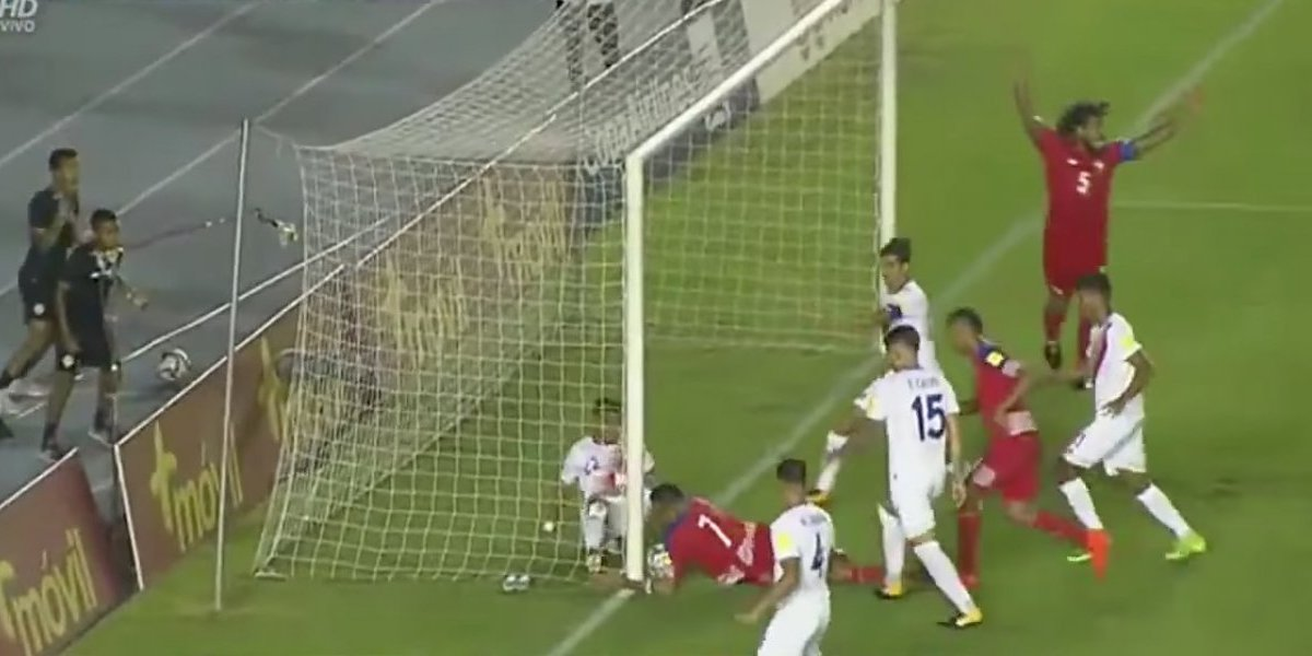 VIDEO: ¡Polémica! Un gol que nunca entró clasificó a Panamá al Mundial