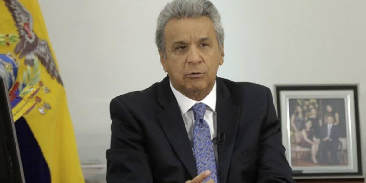 Anuncia Lenín Moreno programa económico para Ecuador