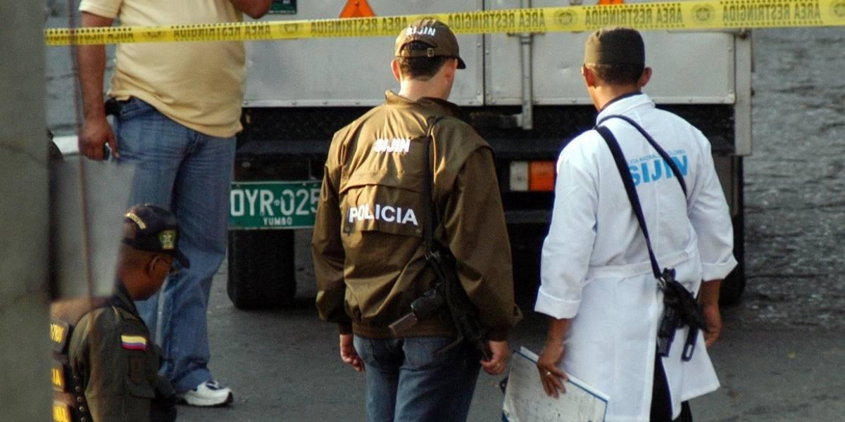 Motociclista pierde la vida en accidente en la Av. Cali con calle 13 de Bogotá