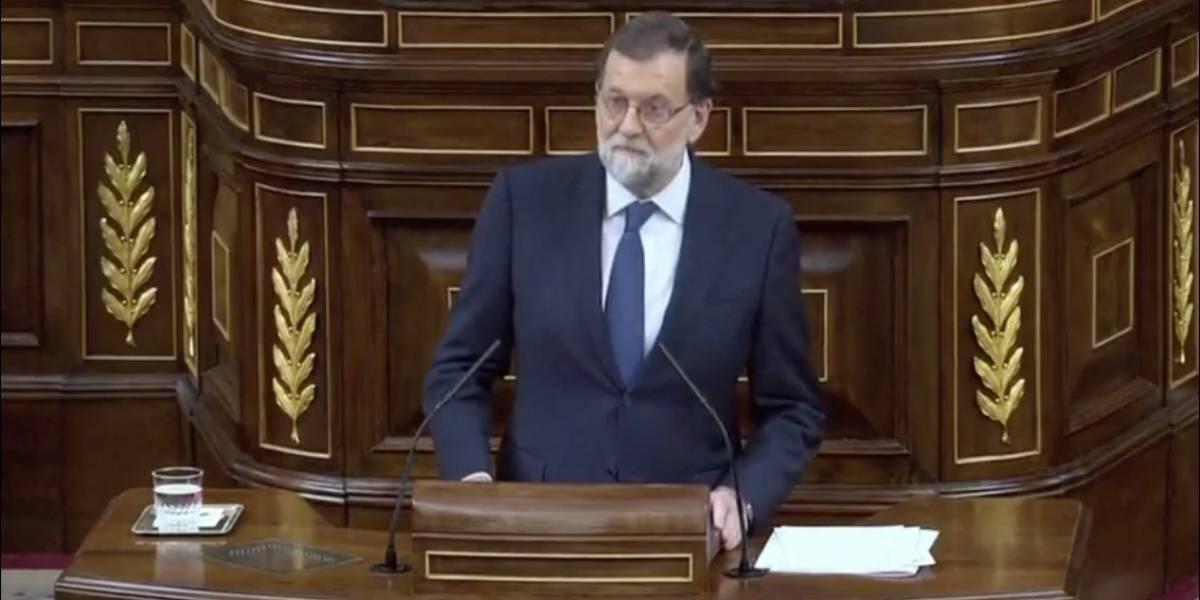 'Lo que no es legal, no es democrático': Mariano Rajoy ante el Congreso por Cataluña