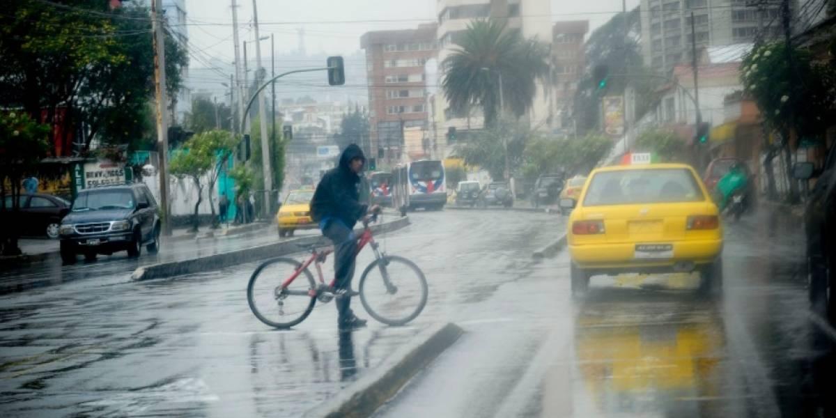 Quito: Se prevé que durante dos días continúen las lluvias