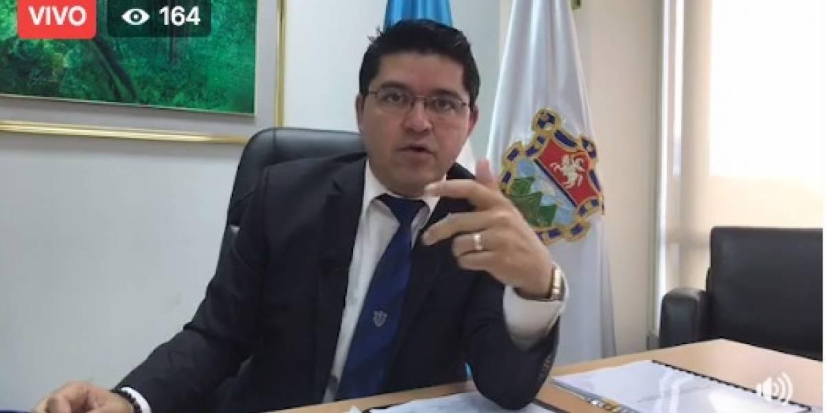 Álvaro Arzú llegará a tribunales por antejuicio en su contra