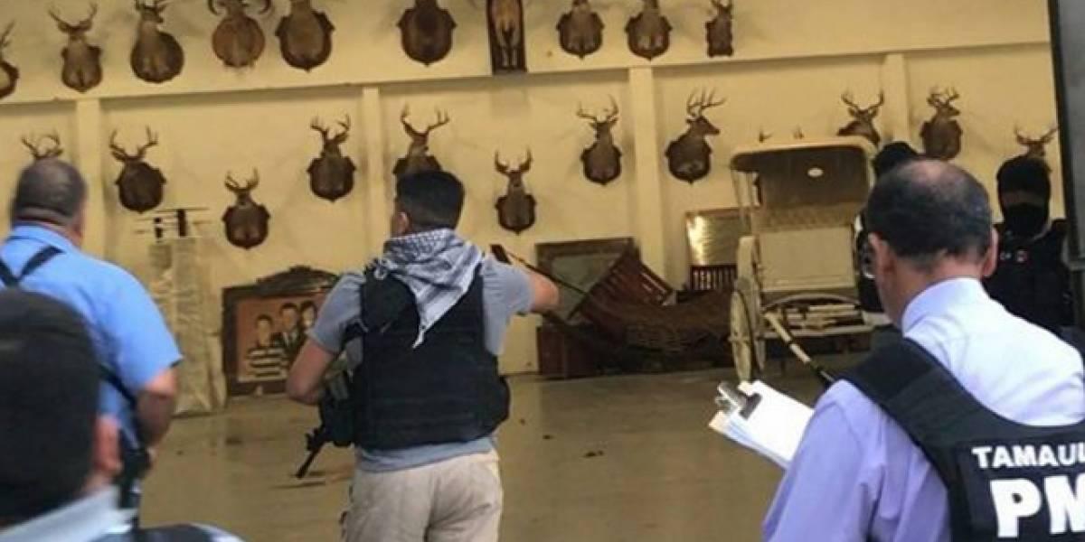 Autoridades de Tamaulipas catean rancho del ex gobernador Eugenio Hernández