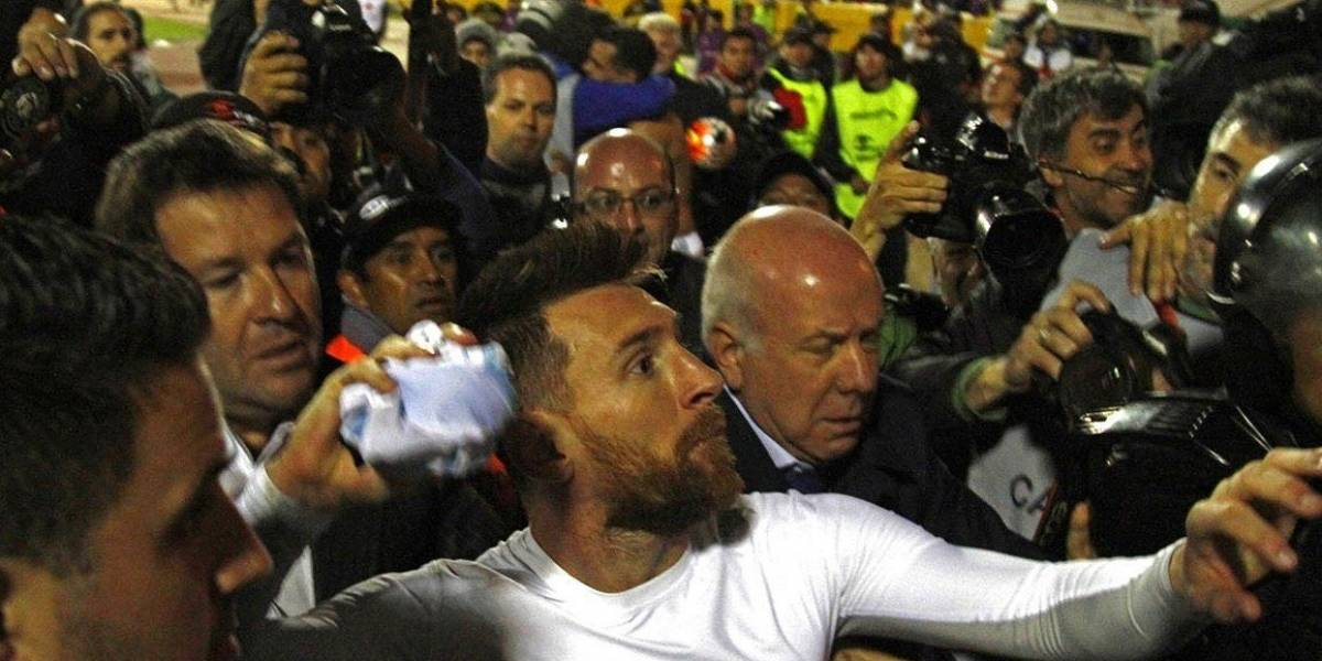 El gesto de Messi con los argentinos al terminar el partido