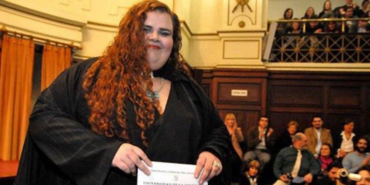 Ella es Michelle Suárez, la primera senadora transexual en Uruguay