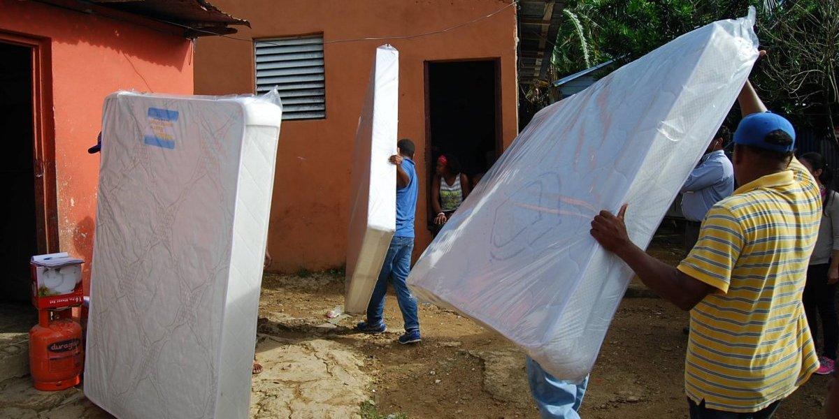 Plan Social ha beneficiado más de 8 mil familias tras las inundaciones del huracán María