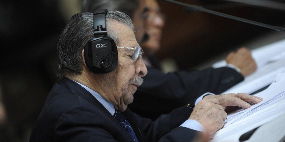 Juicio por genocidio contra Ríos Montt se retomará esta semana