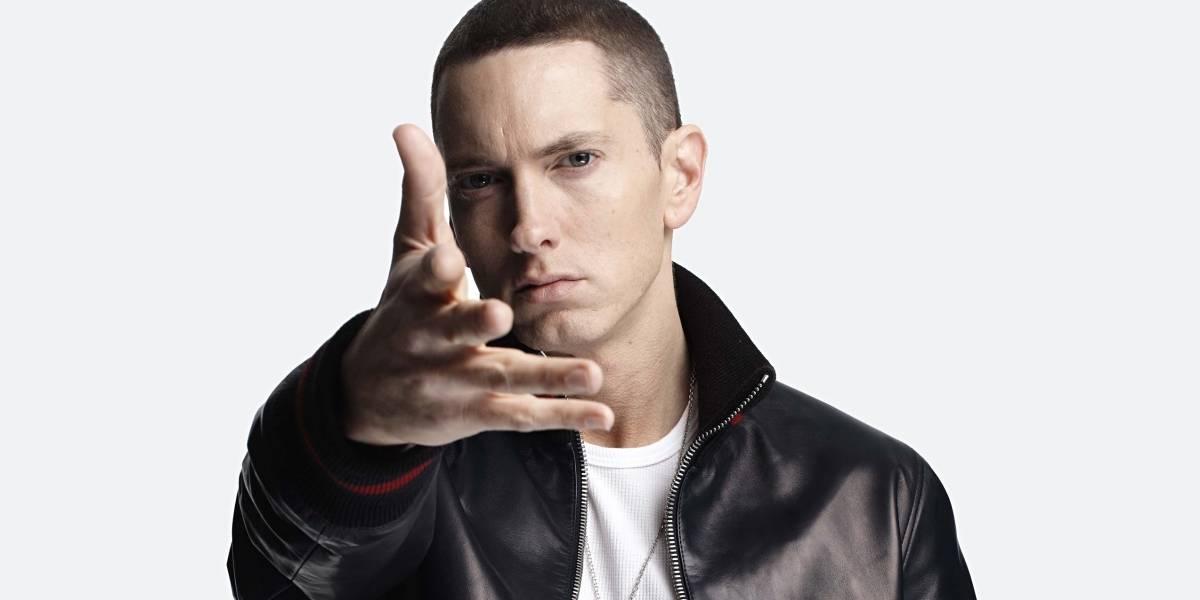 Eminem insulta a Donald Trump en una improvisación