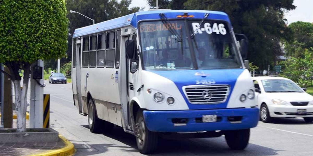 Se reducen siniestros del transporte público de la ZMG