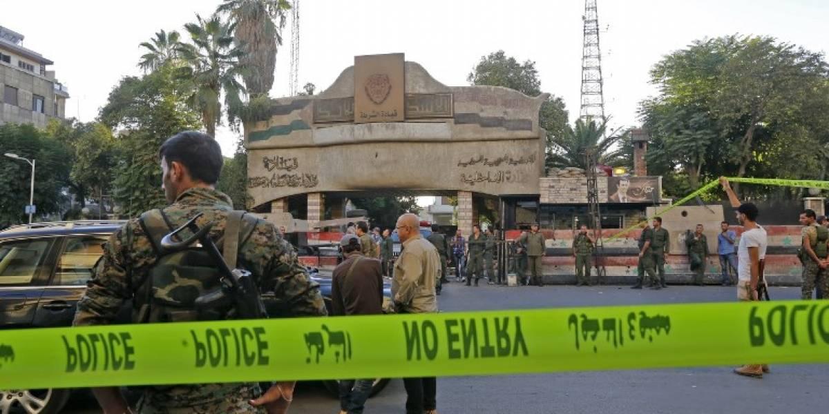 FOTOS. Estado Islámico reivindica triple ataque suicida en Damasco