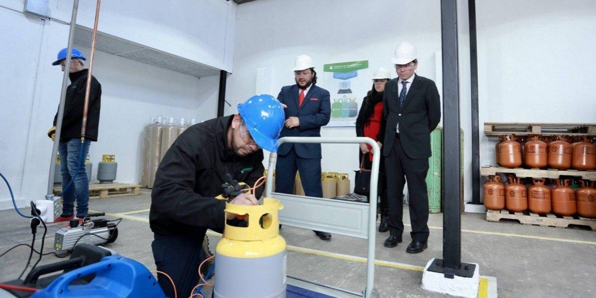Implementarán tecnología norteamericana para reciclar gases de los aires acondicionados y equipos de refrigeración