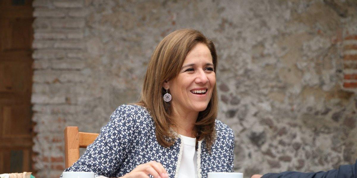 """""""Prefiero estar en manos de los ciudadanos"""": Margarita Zavala"""