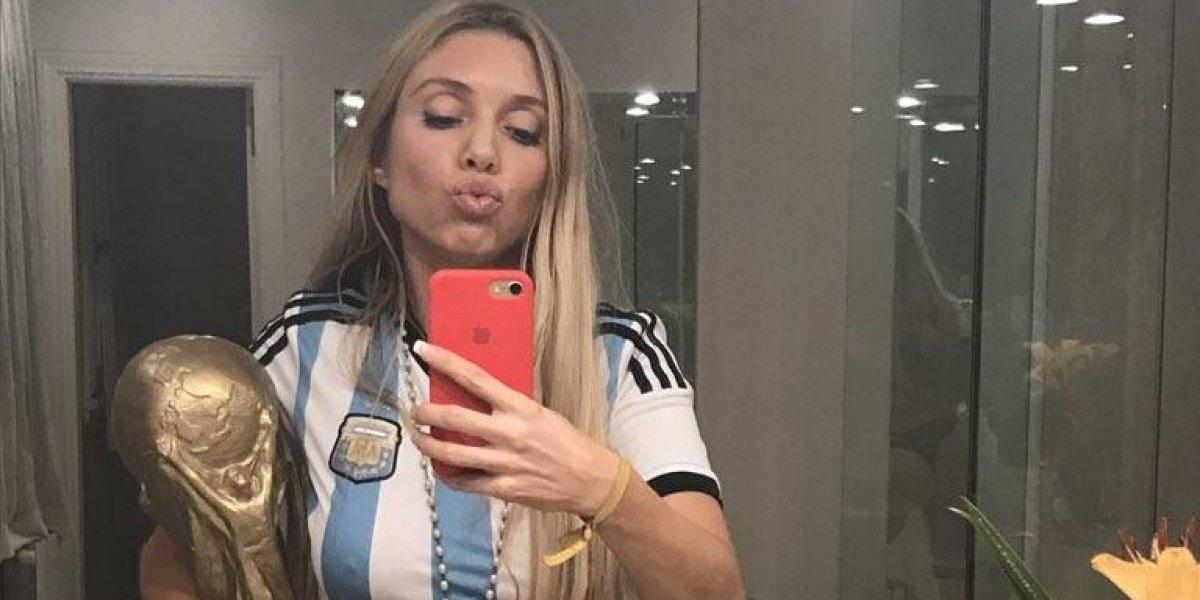 La sexy celebración de Melisia por el pase de Argentina a Rusia 2018