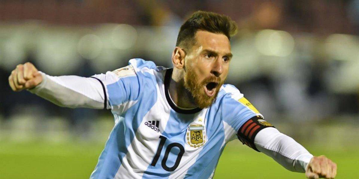 Tras triunfo de Argentina, Messi regresó al Barcelona